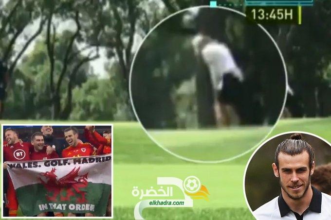 جاريث بيل يلعب الجولف في إسبانيا قبل ساعات فقط من مواجهة ريال مدريد ضد مان سيتي 26