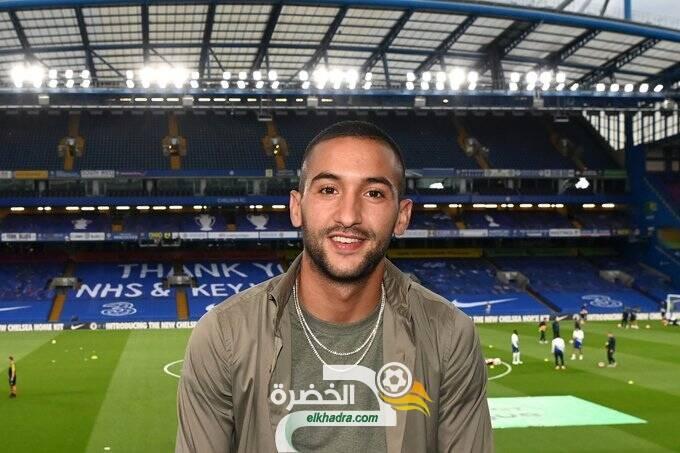 المغربي حكيم زياش يريد الرقم 10 في تشيلسي 24