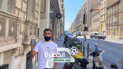 كريم زدادكة لاعب نابولي الإيطالي يستخرج جواز سفره الجزائري 24
