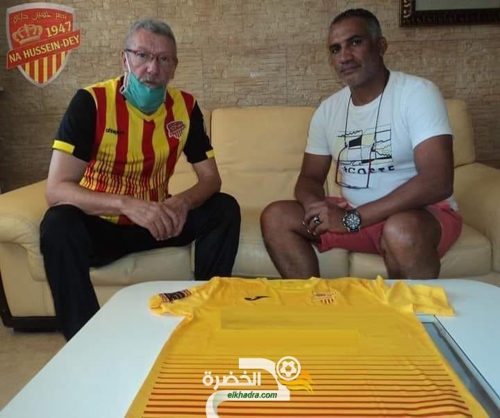 لكناوي مدربا لنصر حسين داي 24