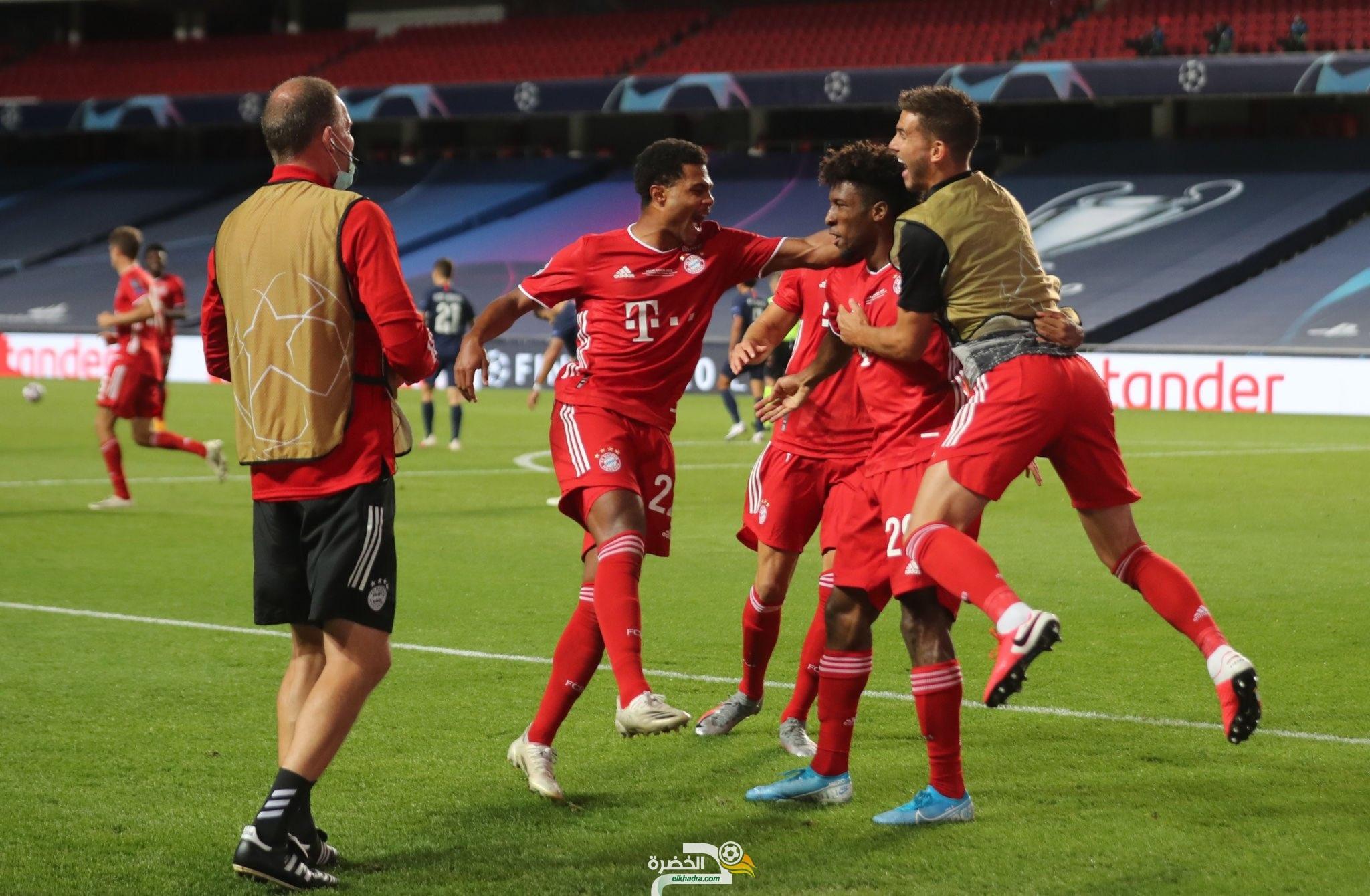 بايرن ميونخ بطلاً لـ دوري أبطال أوروبا للمرة السادسة في تاريخه 33