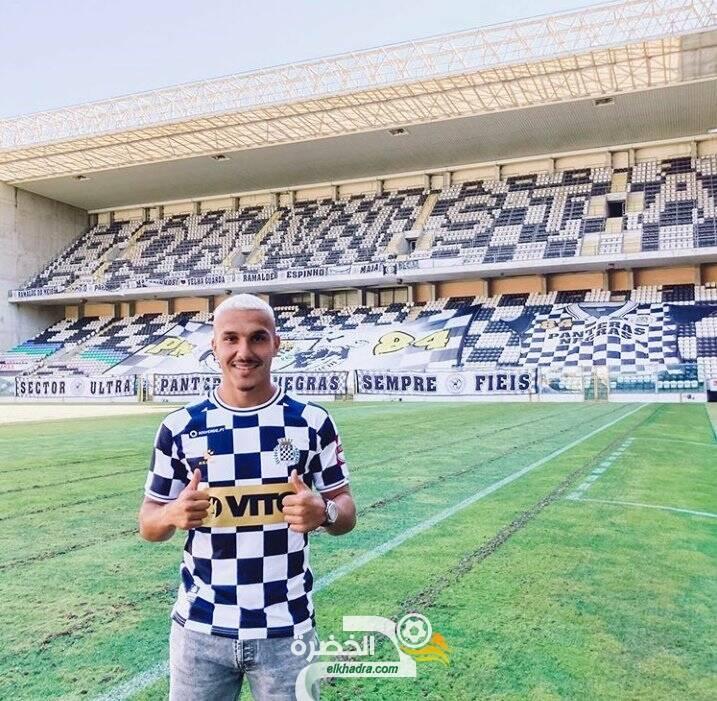 الجزائري يانيس حماش ينضم لنادي بوافيستا البرتغالى 28