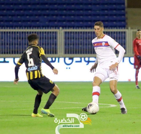 مهدي تاهرات هداف ويقود أبها للفوز على الاتحاد في الدوري السعودي 25