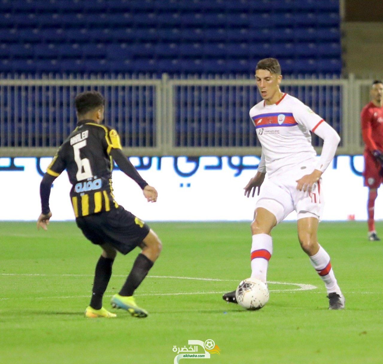مهدي تاهرات هداف ويقود أبها للفوز على الاتحاد في الدوري السعودي 26