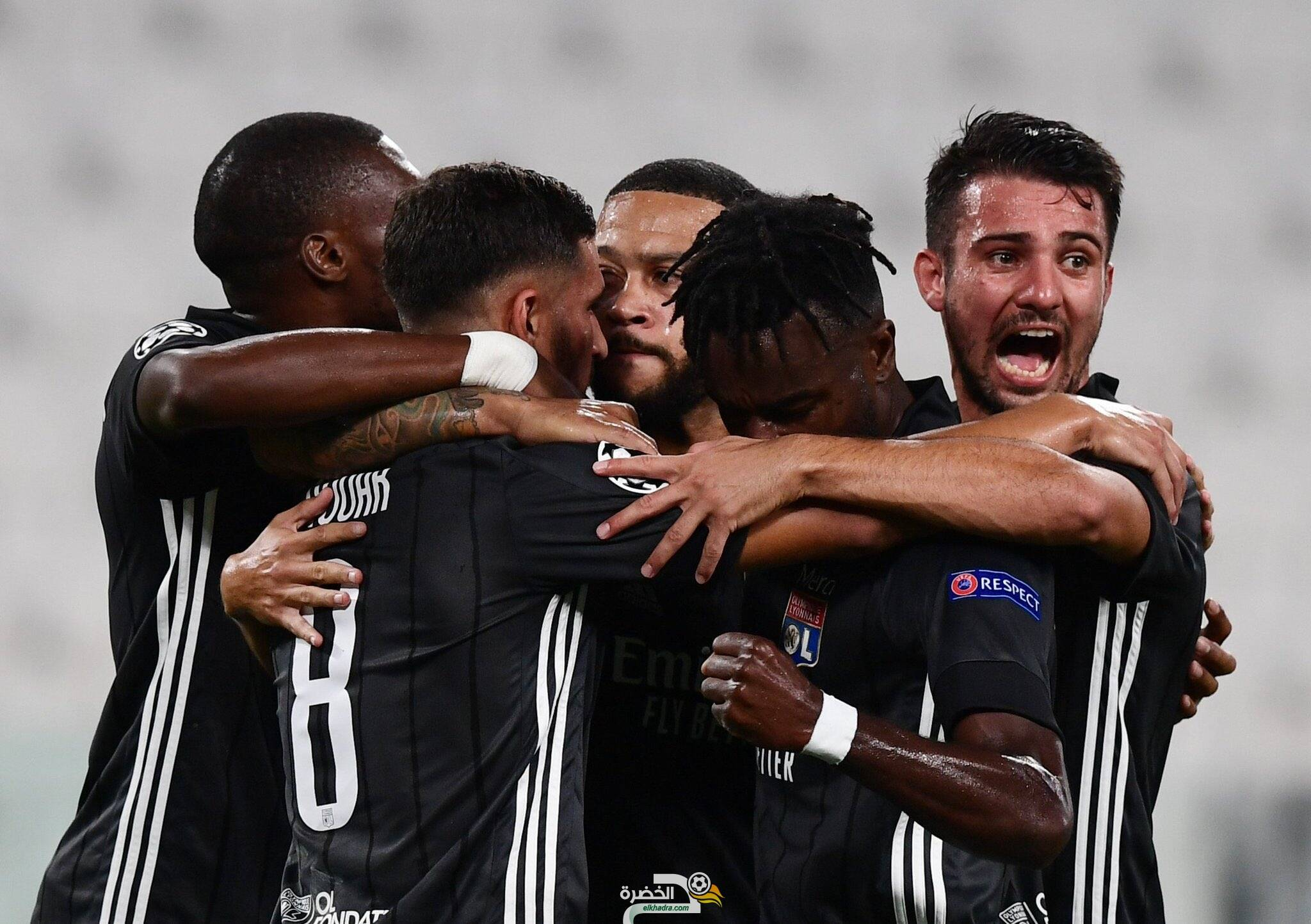 ليون يقصي يوفينتوس ويتأهل لربع نهائي دوري أبطال أوروبا 25