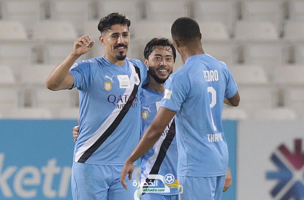 بونجاح هداف ويقود السد لفوز مثير على نادي قطر بهدف دون رد 35