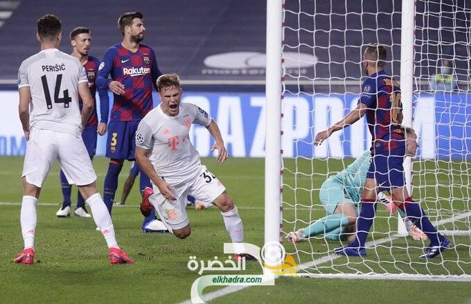 بايرن ميونيخ يكتسح برشلونة 8 - 2 ويبلغ نصف نهائي دوري أبطال أوروبا 25