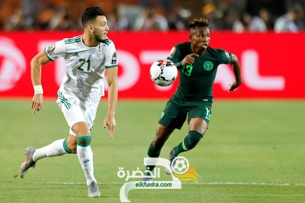 رسميا .. الجزائر تواجه نيجيريا في مباراة ودية يوم 9 اكتوبر 35