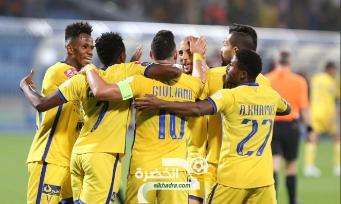 النصر السعودي يتجاوز أهلي جدة ويتأهل لنصف نهائي دوري أبطال آسيا 24