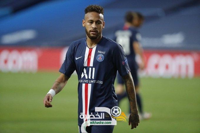 إصابة نيمار وأثنين آخرين من فريق باريس سان جيرمان بكورونا كوفيــد -19 26