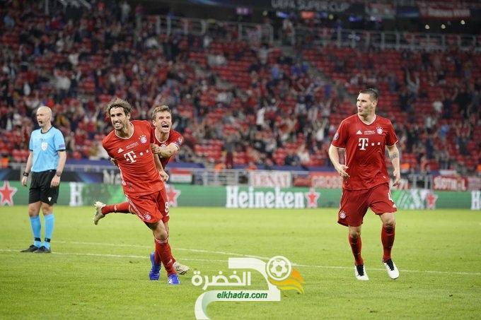 بايرن ميونخ يتوج بلقب كأس السوبر الأوروبي 27