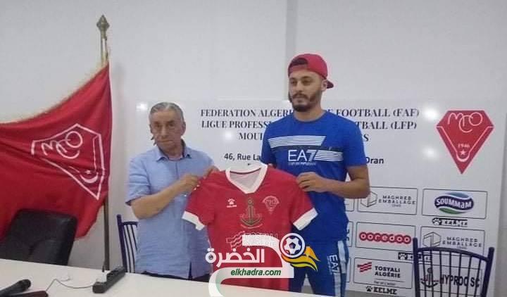 بوعلام مصمودي يجدد عقده مع مولودية وهران لموسمين 24