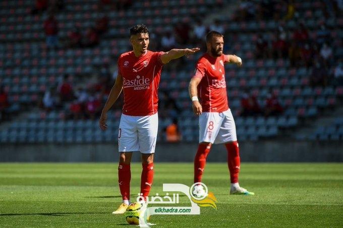 بالفيديو هدف زين الدين فرحات اليوم في الدوري الفـرنــســي 33