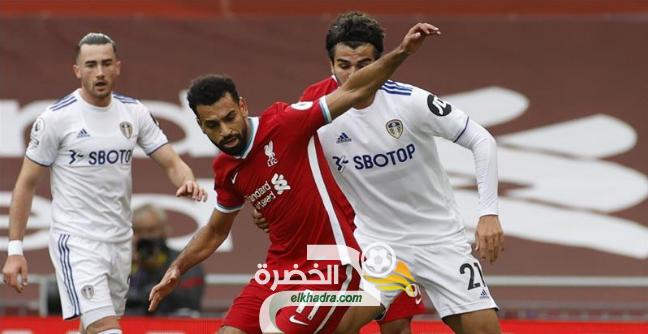 محمد صلاح يقود ليفربول لفوز مثير على ضيفه ليدز يونايتد 24