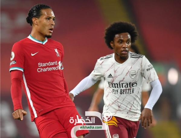 ليفربول يفوز على على آرسنال في قمة الجولة الثالثة من الدوري الإنجليزي 26