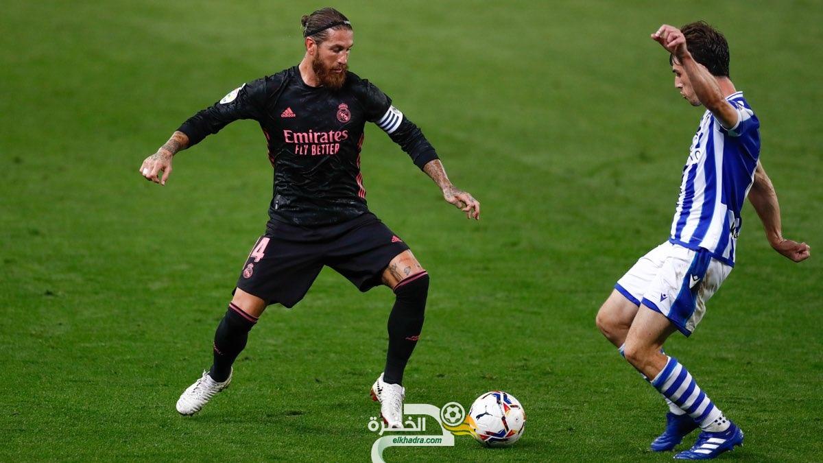 ريال مدريد يتعادل مع سوسيداد في افتتاح مبارياته بالليغا 30