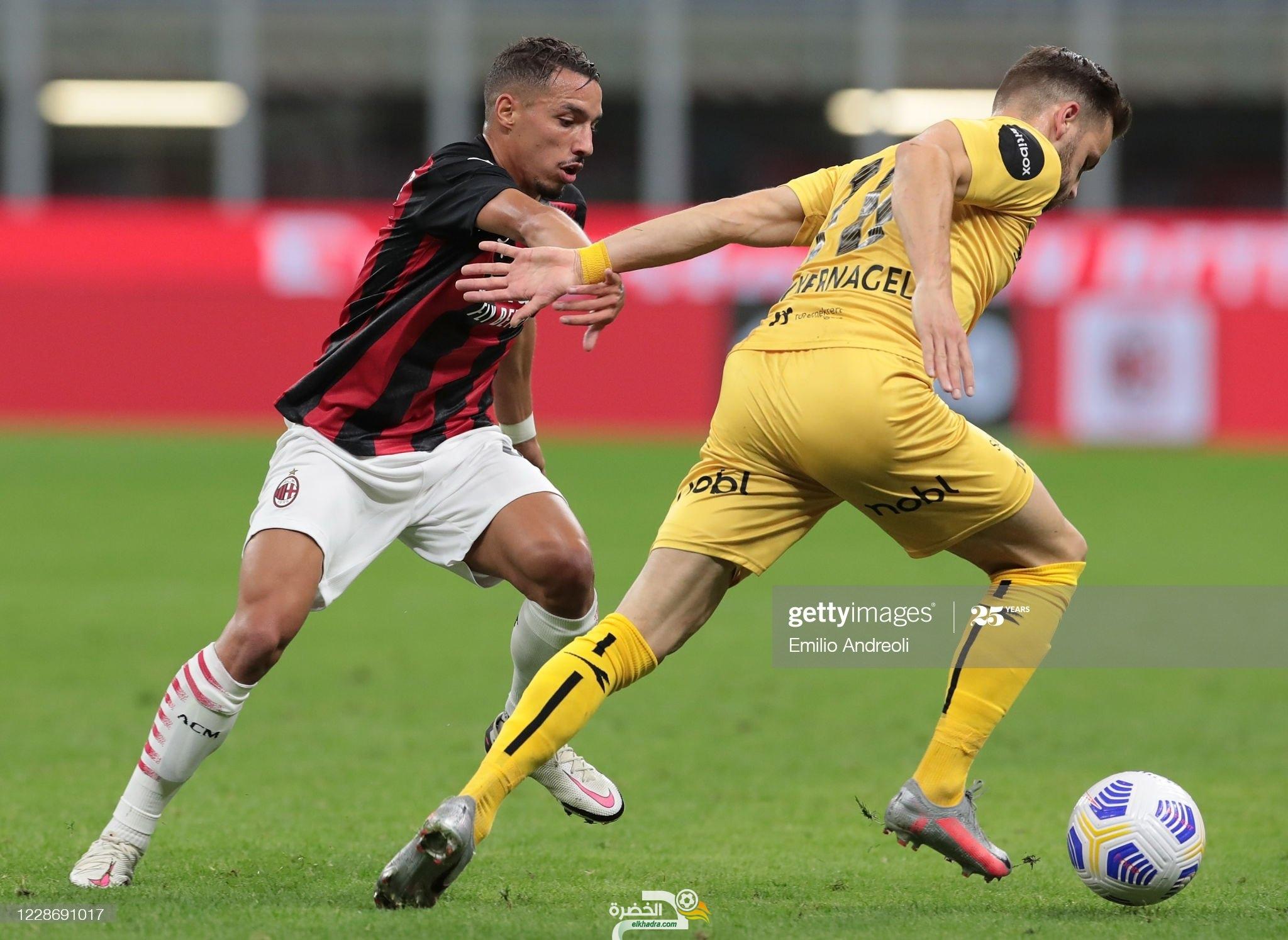 الدوري الأوروبي : بن ناصر اساسي في فوز ميلان على ضيفه مودو النرويجي 27