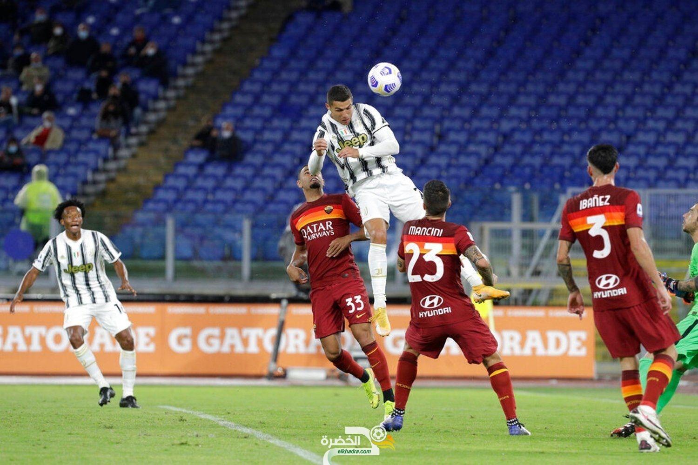 رونالدو يقود يوفنتوس للعودة بتعادل ثمين أمام مضيفه روما 25