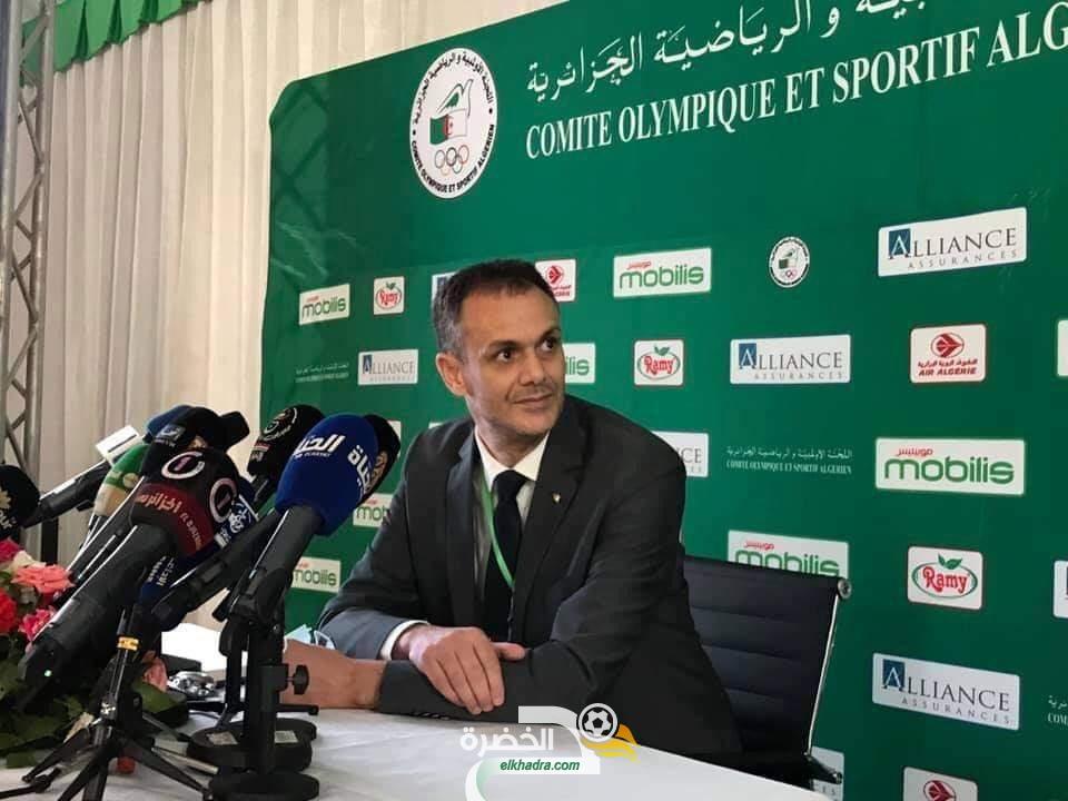 عبد الرحمان حماد رئيسا جديدا للجنة الأولمبية الجزائرية خلفا لمصطفى بيراف 24