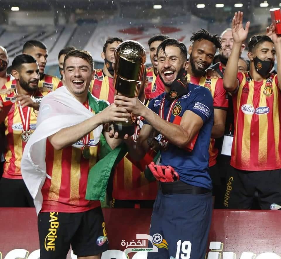 نادي الترجي بطلاً لكأس السوبر التونسي 24