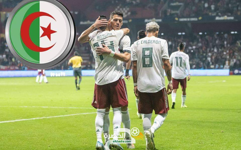 تربص اكتوبر : المنتخب الجزائري قد يواجه منتخب المكسيك 25