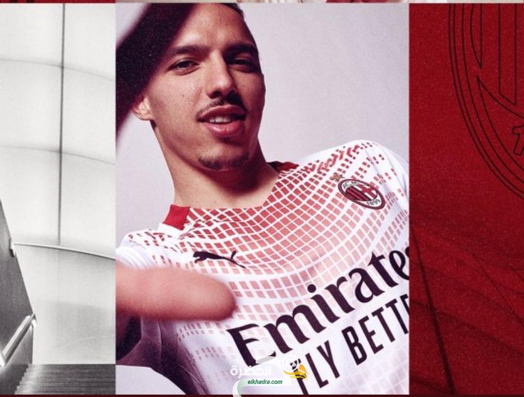 بن ناصر في تقديم قميص ميلان الجديد 24