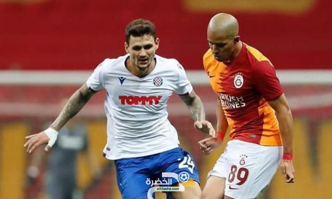 الدوري الأوروبي : فيغولي اساسي في فوز غلطة سراي على ضيفه هايدوك سبليت الكرواتي 25