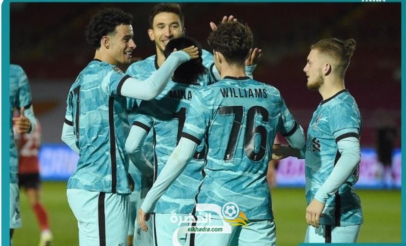 ليفربول يتأهل الى ثمن نهائي كأس رابطة المحترفين الإنجليزية 26