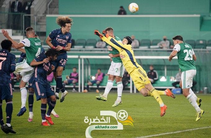 آرسنال يحقق فوزا صعبا 2-1 على مضيفه رابيد فيينا في الدوري الأوروبي 27