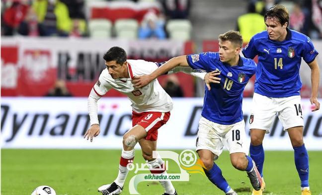 المنتخب الإيطالي يتعادل مع بولندا دون أهداف 27