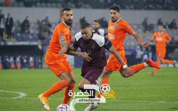 باريس سان جيرمان يعود بفوز ثمين خارج ملعبه أمام باشاك شهير إسطنبول التركي 29