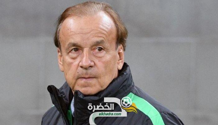"""مدرب نيجيريا : """"الجزائر ستكون اختبارا كبيرا لنا"""" 24"""