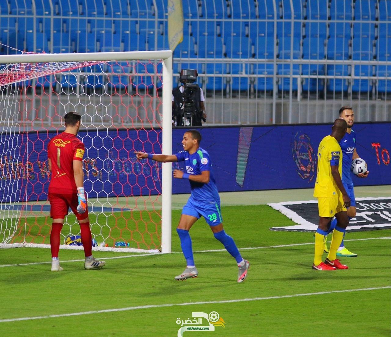 ثنائية بن دبكة تقود ناديه الفتح للفوز على مضيفه النصر 29