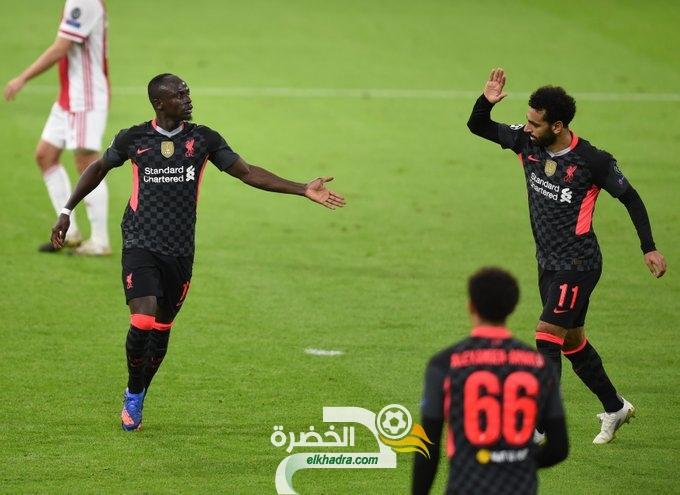 ليفربول يخطف فوزًا هامًا من ملعب يوهان كرويف أمام أياكس 25