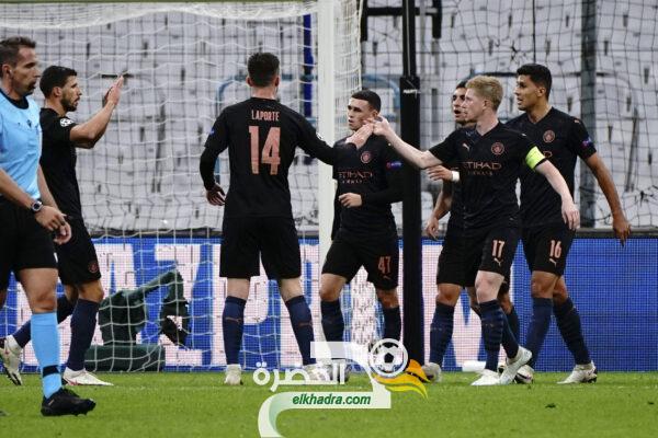 مانشستر سيتي يعود بانتصار ثمين من ميدان مارسيليا الفرنسي 25