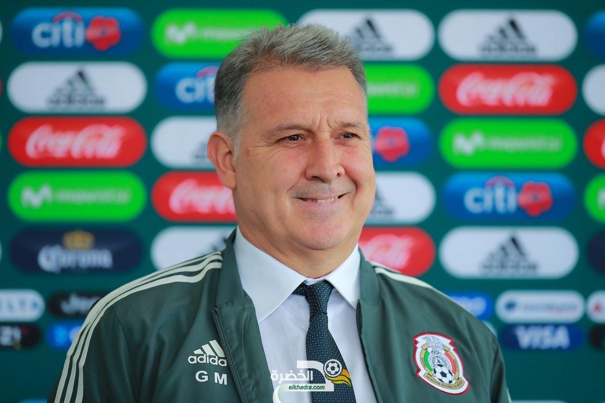 """مدرب المكسيك : """"الجزائر تمثل تحد مهم للتعرف على مستوانا الحقيقي"""" 24"""