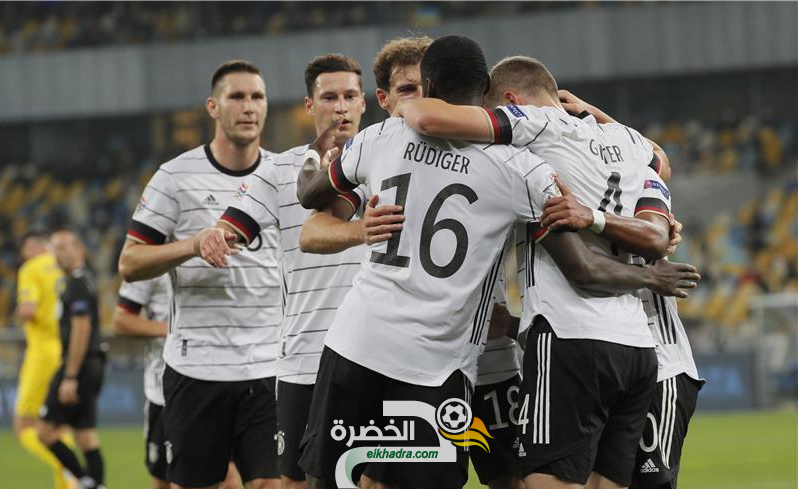 منتخب ألمانيا يفوز على أوكرانيا وحقق أول انتصاراته في دوري الأمم الأوروبية 25