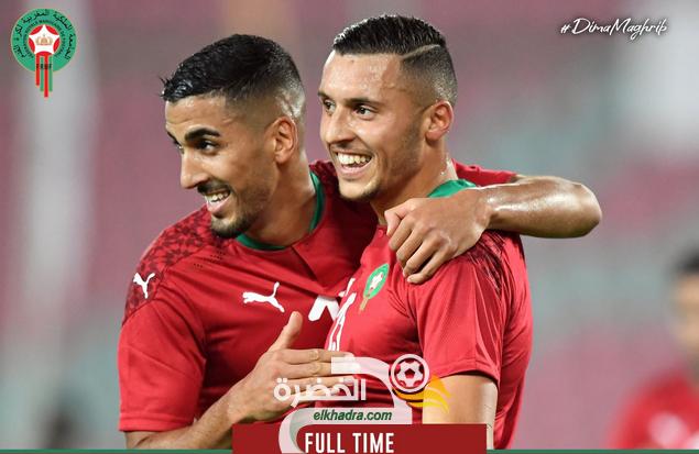 منتخب المغرب يفوز على ضيفه السينغال بثلاثية وديا 29
