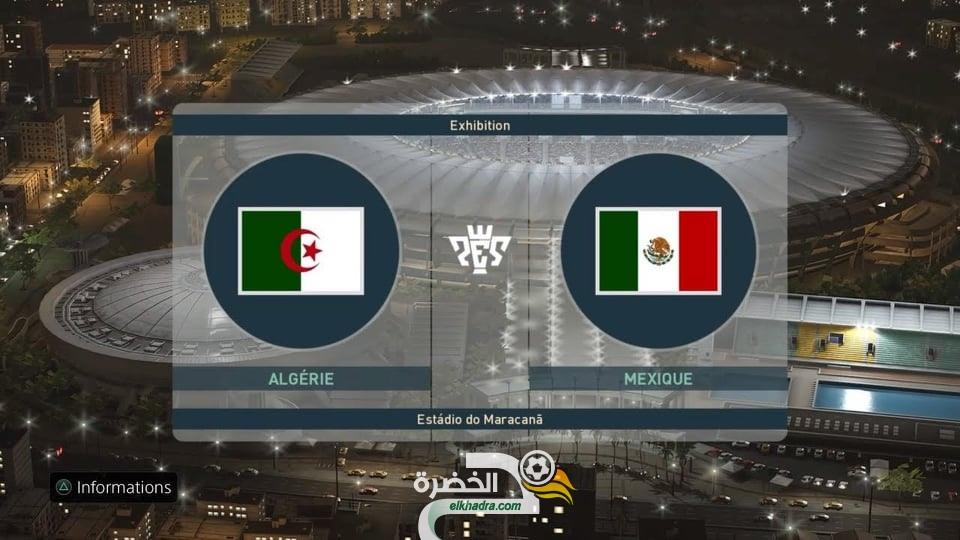 مباراة الجزائر و المكسيك مباشرة على قناة عربية مفتوحة في النايلسات 24