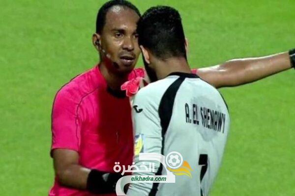 الحكم السوداني محمود علي محمود لإدارة مباراة منتخب الجزائر و زيمبابوي 28