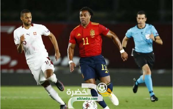 منتخب إسبانيا يفوز على سويسرا بهدف دون رد 33