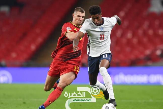 المنتخب الإنجليزي يفوز على بلجيكيا في دوري الأمم الأوروبية 24