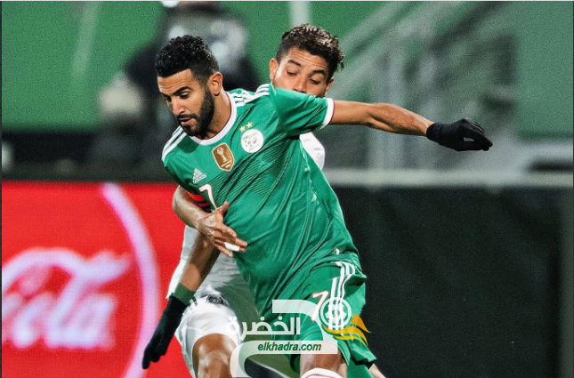 بالفيديو : اهداف المنتخب الجزائري ضد المكسيك 2-2 33