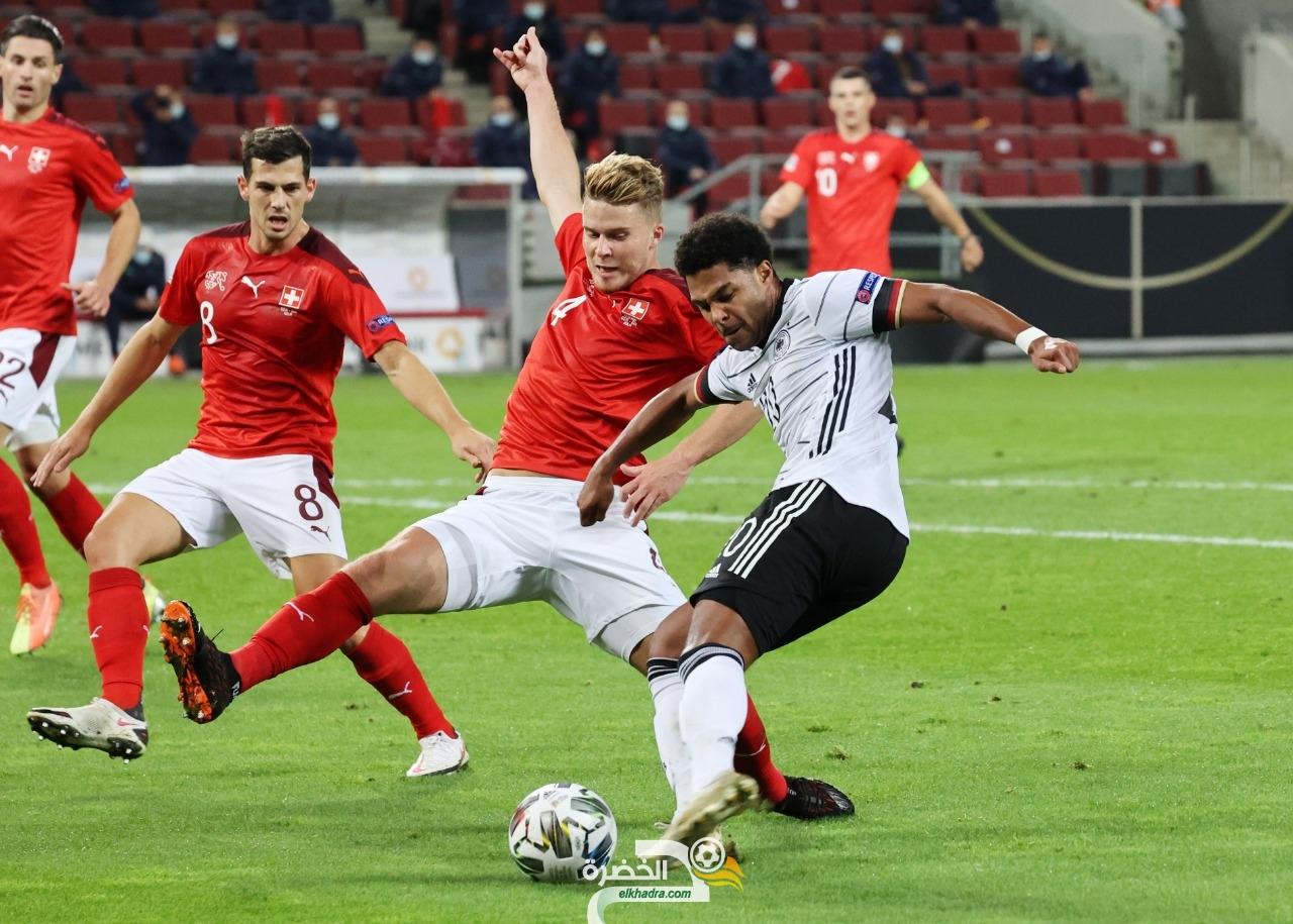 منتخب ألمانيا يحقق تعادل مثير مع سويسرا 24