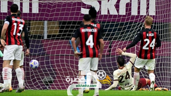 بمشاركة بن ناصر .. ميلان يتعادل مع ضيفه روما 3-3 في مباراة مثيرة 25