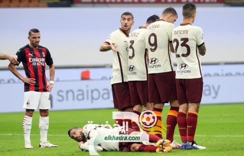 الصحافة الايطالية تنصف بن ناصر في ضربة الجزاء ضد روما 34