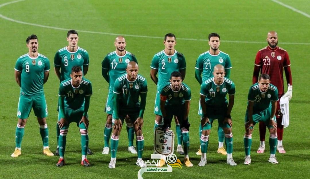 المنتخب الجزائري يتقدم 5 مراكز ويحتل المركز 30 في ترتيب الفيفا 35