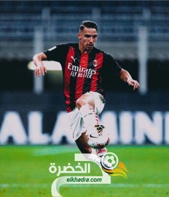 ميلان : بن ناصر يعود قبل مواجهة مانشستر يونايتد 27