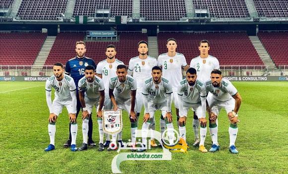 """الجزائر-المكسيك : """"الخضر"""" من أجل رفع التحدي أمام منافس في أحسن أحواله 24"""