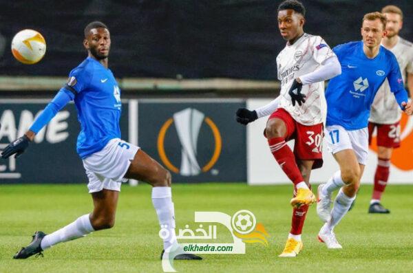 آرسنال يتأهل إلى الدور الثاني من منافسات الدوري الأوروبي 52